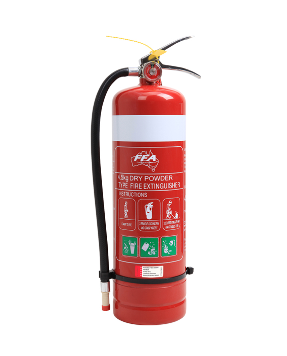 Red 4.5kg dcp fire extinguisher