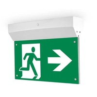 Green Slim 3 Watts LED Emergency Exit Light