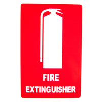 Fire Extinguisher Location Sign (Medium) 215mm x 320mm