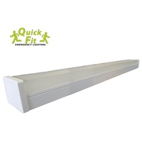 1x18w 4 Foot Single LED Batten Light (1226mm x 122mm x 91mm)