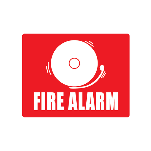 Plastic Fire Alarm with BELL
